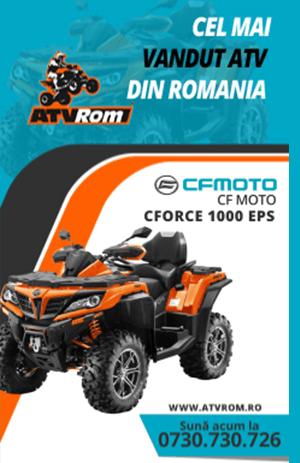 ATV, motociclete, scutere, skijet, spyder, accesorii - ATVRom